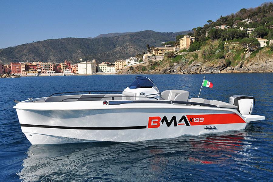 BMA BOATS x199 con Motore Suzuki 40 ARI