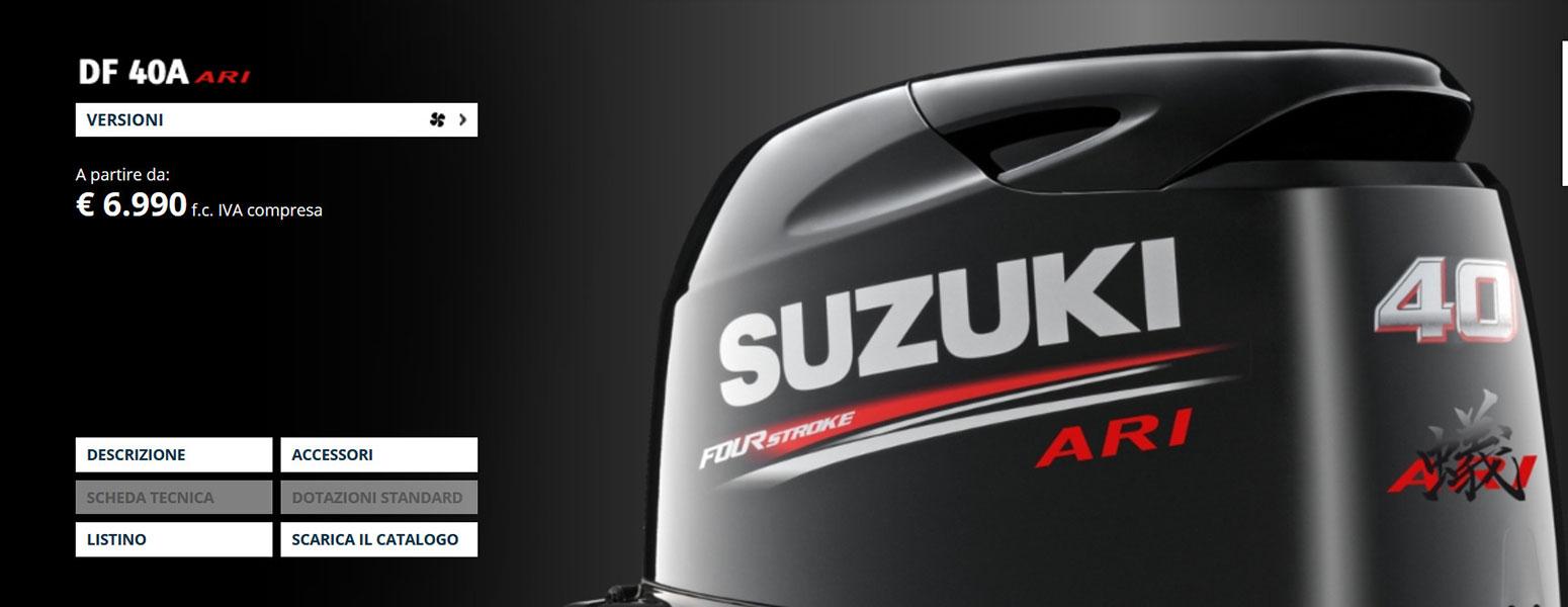 Suzuki 40 ARI 2020